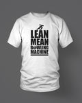 LEAN MEAN BOWLING MACHINE - MEN'S T-SHIRT White