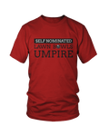 Self nominated LAWN BOWLS UMPIRE - MEN'S T-SHIRT Colours