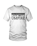 Self nominated LAWN BOWLS UMPIRE - MEN'S T-SHIRT White
