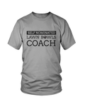 Self nominated LAWN BOWLS COACH - MEN'S T-SHIRT Colours