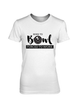 Born to Bowl FORCED TO WORK - WOMEN'S T-SHIRT White
