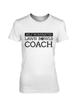 Self nominated LAWN BOWLS COACH - WOMEN'S T-SHIRT White
