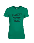 Warning! Watching Lawn Bowls Do Not Disturb! - WOMEN'S T-SHIRT Colours