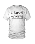 I LOVE it when MY WIFE lets me go lawn bowling - MENS T-SHIRT White