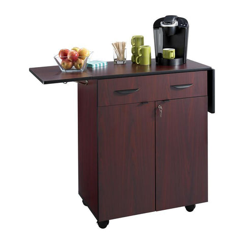 Safco 8962MH Hospitality Service Cart - Peazz Furniture