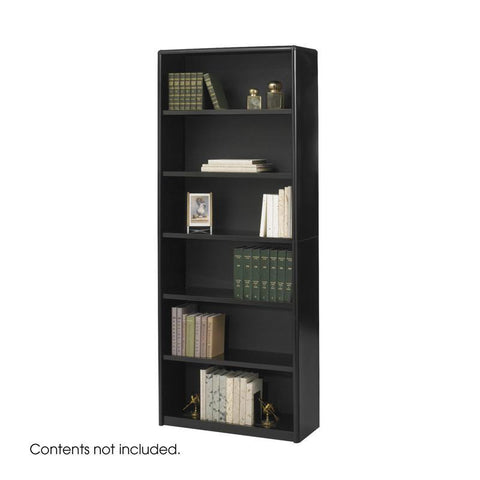 Safco 7174BL 6-Shelf ValueMate® Economy Bookcase - Peazz Furniture