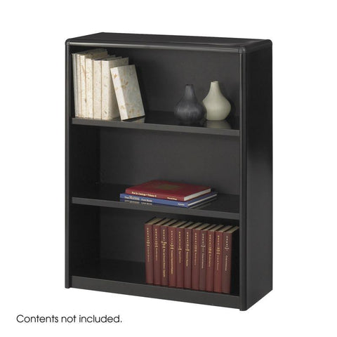 Safco 7171BL 3-Shelf ValueMate® Economy Bookcase - Peazz Furniture