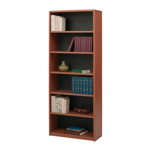 Safco 7174CY 6-Shelf ValueMate® Economy Bookcase - Peazz Furniture