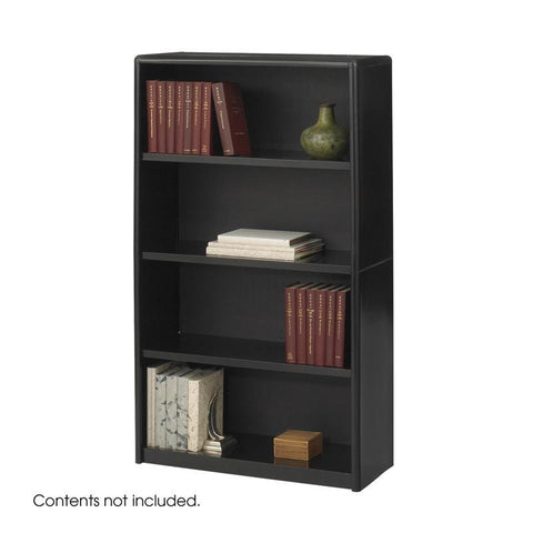 Safco 7172BL 4-Shelf ValueMate® Economy Bookcase - Peazz Furniture