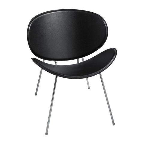 Safco 3563BL Sy™ Guest Chair Black - Peazz Furniture