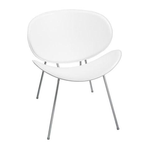 Safco 3563WH Sy™ Guest Chair White - Peazz Furniture