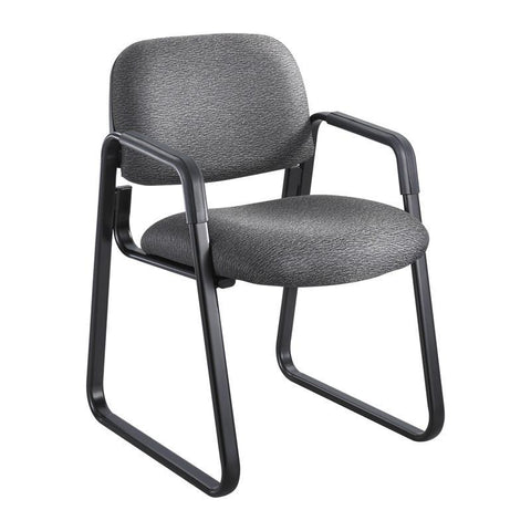Safco 7047BL Cava® Urth™ Sled Base Guest Chair - Peazz Furniture