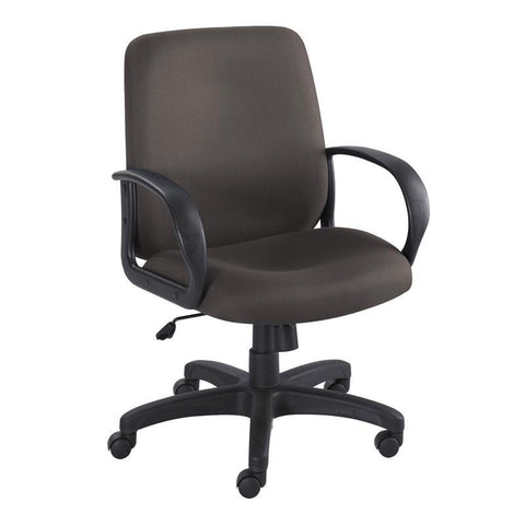 Safco 6301BL Poise® Executive Mid Back Seating - Peazz Furniture