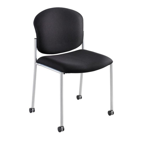 Safco 4194BL Diaz Guest Chair - Black - Safcomart