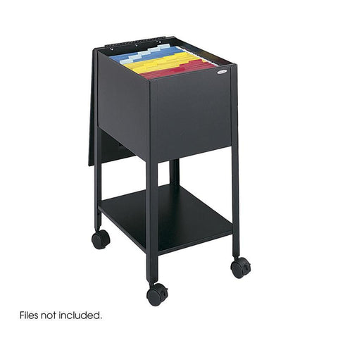 Safco 5360BL Economy Mobile Tub File, Letter Size - Peazz Furniture