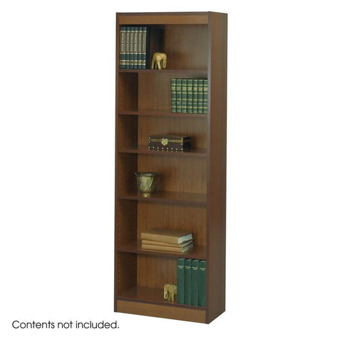 "Safco 1512CYC 6-Shelf Veneer Baby Bookcase, 24""W - Safcomart"