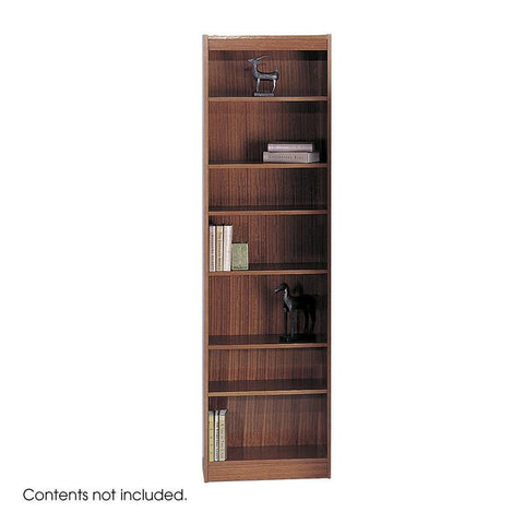 "Safco 1515CYC 7-Shelf Veneer Baby Bookcase, 24""W - Peazz Furniture"