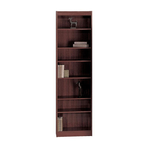 "Safco 1515MHC 7-Shelf Veneer Baby Bookcase, 24""W - Peazz Furniture"