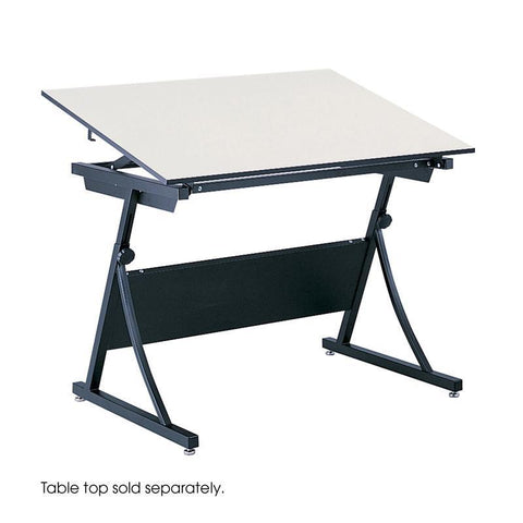 Safco 3957 PlanMaster Height-Adjustable Drafting Table - Safcomart