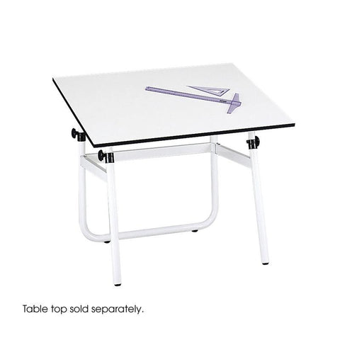 Safco 3961 Horizon Drawing Table Base - Peazz Furniture