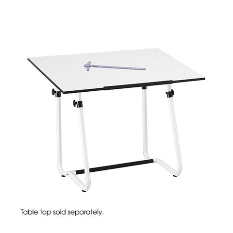 Safco 3960 Vista Drawing Table Base - Safcomart