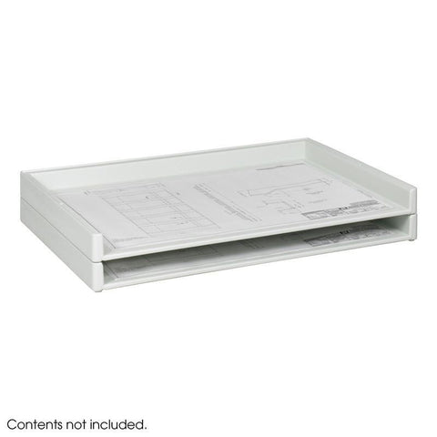 Safco 4897 Giant Stack Tray for 24 x 36 Documents (Qty.2) - Safcomart