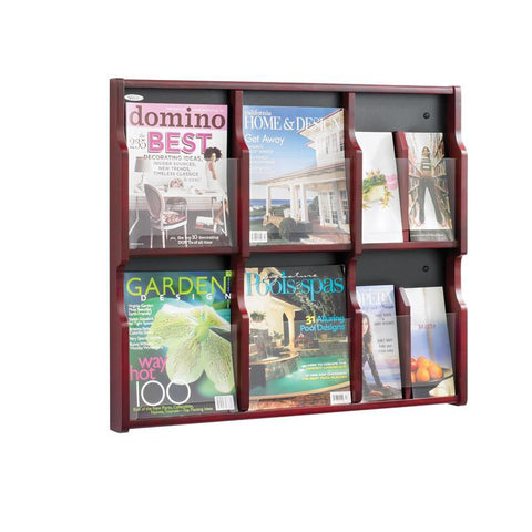 Safco 5703MH Expose™ 6 Magazine 12 Pamphlet Display - Peazz Furniture