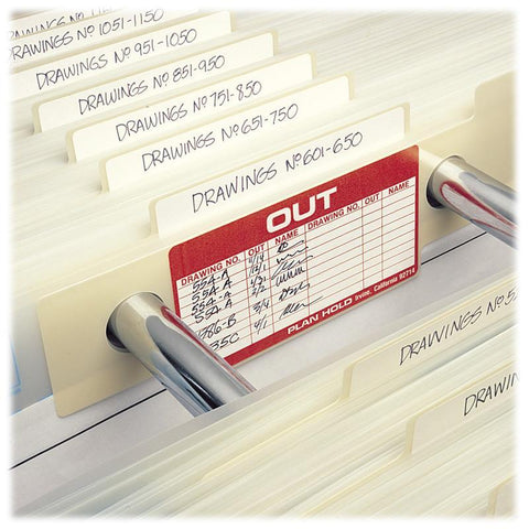 Safco 6554 Index/Out Guides for MasterFile 2 - Peazz Furniture