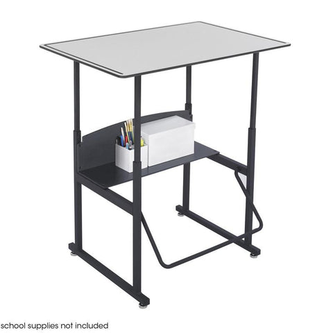 Safco 1208GR AlphaBetter® Desk, 36 x 24 Premium Top, Without Book Box - Safcomart