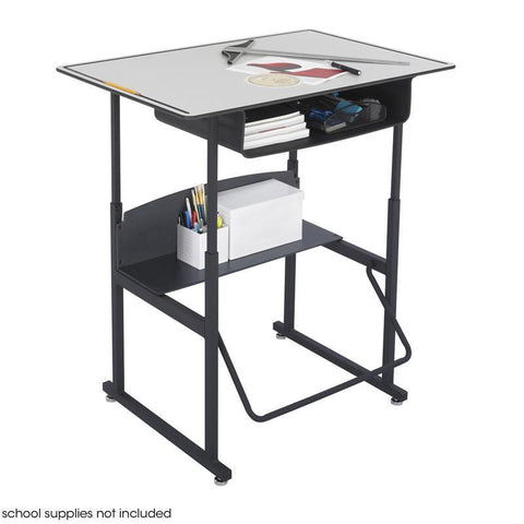 Safco 1209GR AlphaBetter® Desk, 36 x 24 Premium Top, with Book Box - Safcomart