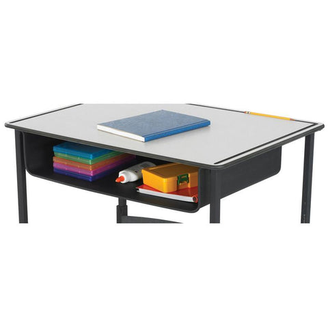 Safco 1212BL Book Box for AlphaBetter® Desk - Peazz Furniture
