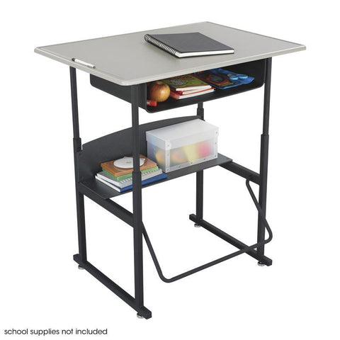 Safco 1207BE AlphaBetter® Desk, 36 x 24 Standard Top with Book Box - Safcomart