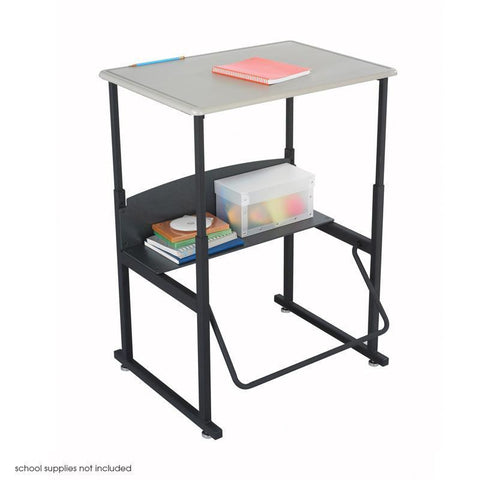 Safco 1201BE AlphaBetter® Desk, 28 x 20 Standard Top, Without Book Box - Safcomart