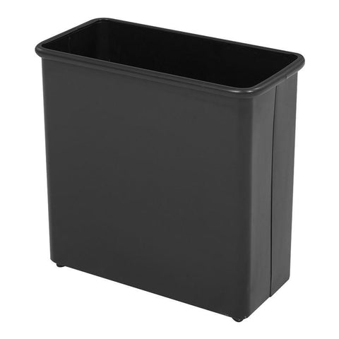 Safco 9616BL Rectangular Wastebasket, 27-1/2 Qt. (Qty.3) - Peazz Furniture