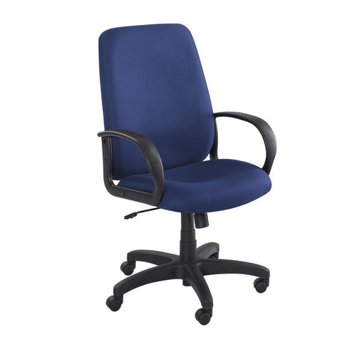 Safco 6300BU Poise® Executive High Back Seating - Peazz Furniture