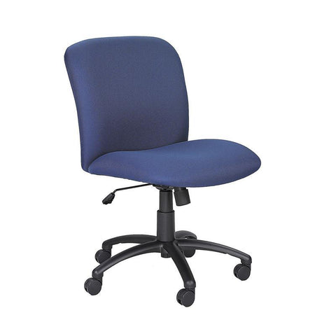 Safco 3491BU Uber™ Big and Tall Mid Back Chair - Safcomart