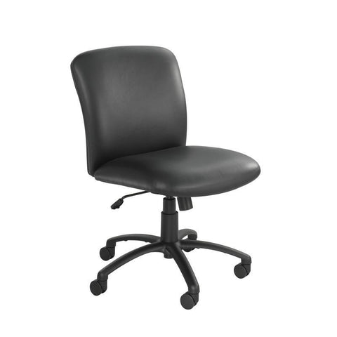 Safco 3491BV Uber™ Big and Tall Mid Back Chair - Vinyl - Peazz Furniture