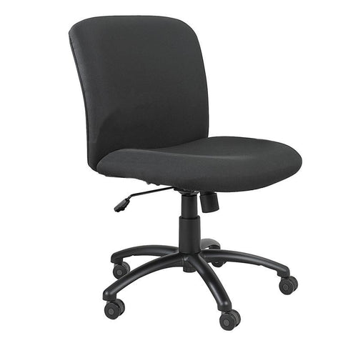 Safco 3491BL Uber™ Big and Tall Mid Back Chair - Peazz Furniture