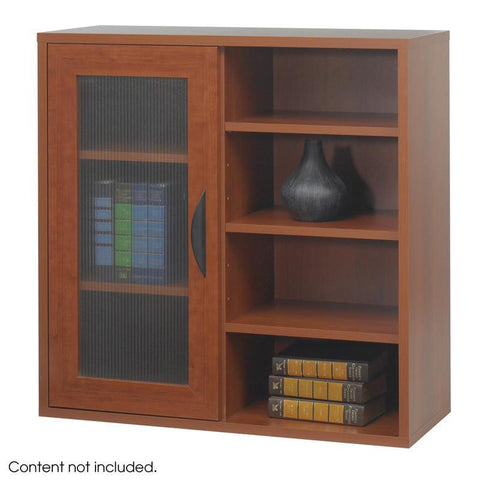 Safco 9444CY Après™ Modular Storage Single Door/ Open Shelves - Peazz Furniture