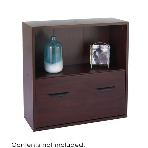 Safco 9445MH Après™ Modular Storage Shelf with Lower File Drawer - Peazz Furniture
