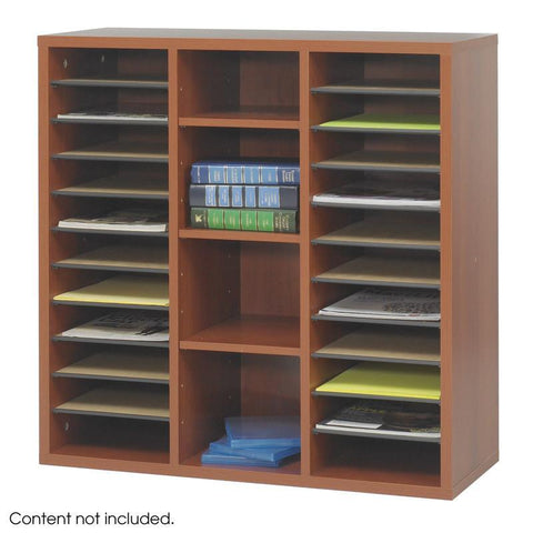 Safco 9441CY Après™ Modular Storage Literature Organizer - Peazz Furniture
