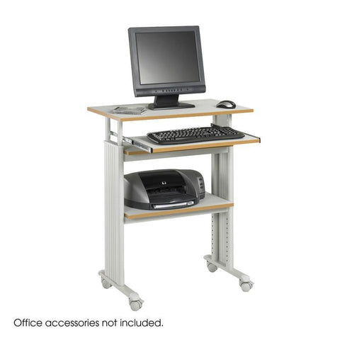 Safco 1929GR Muv™ Stand-up Adjustable Height Workstation - Safcomart