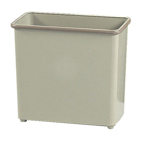 Safco 9616SA Rectangular Wastebasket, 27-1/2 Qt. (Qty.3) - Peazz Furniture