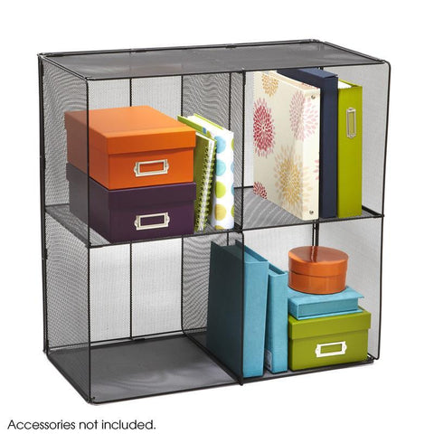 Safco 2172BL Onyx™ Mesh Cubes - Safcomart