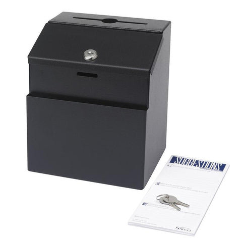 Safco 4232BL Suggestion Box - Safcomart