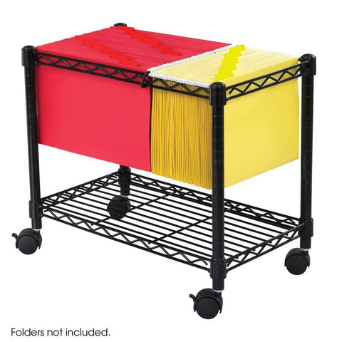 Safco 5201BL Wire Mobile File - Peazz Furniture