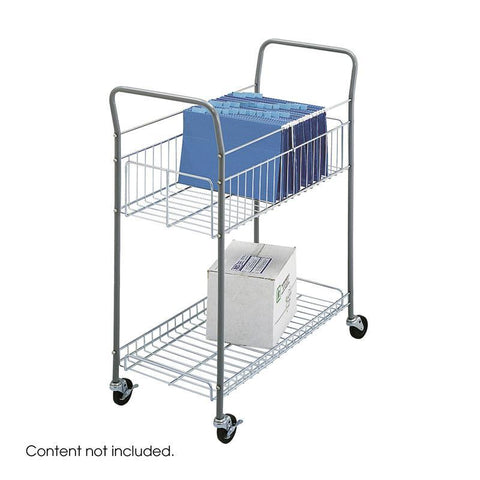 Safco 7754 Economy Mail Cart - Peazz Furniture