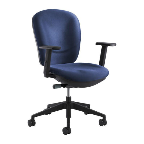 Safco 7205BU Rae™ Ergonomic Task Chair - Peazz Furniture