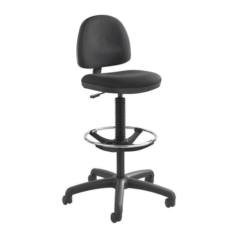 Safco 3401BL Precision Extended-Height Chair with Footring - Safcomart