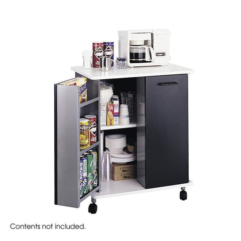 Safco 8963BL Refreshment Stand - Peazz Furniture